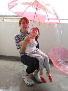 ☔ 傘遊び ☔